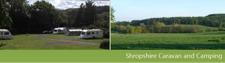Much Wenlock Shropshire Caravan and Camping site